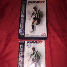 Videojuegos y Consolas: JUEGO SEGA SATURN FIFA 97. Lote 105579000