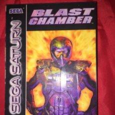 Videojuegos y Consolas: JUEGO SEGA SATURN BLAST CHAMBER. Lote 105579790