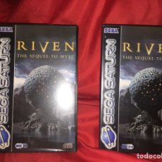 Videojuegos y Consolas: JUEGO SEGA SATURN RIVEN COMPLETO. Lote 105580452