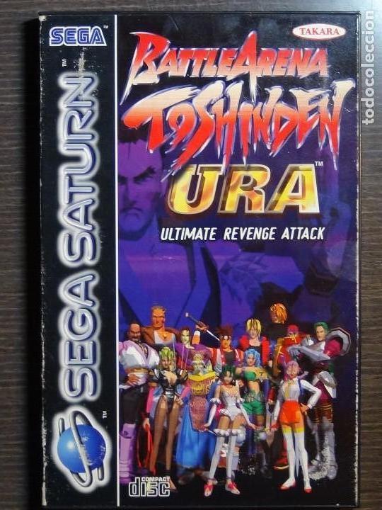 BATTLE ARENA TOSHINDEN URA SEGA SATURN PAL (Juguetes - Videojuegos y Consolas - Sega - Saturn)