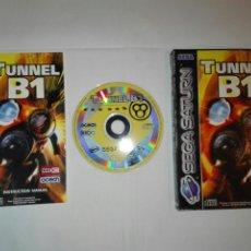Videojuegos y Consolas: SEGA SATURN TUNNEL B1. Lote 113302083