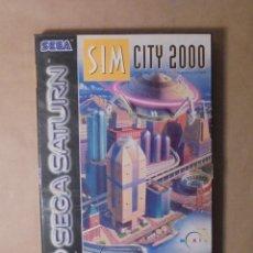 Videojuegos y Consolas: JUEGO SEGA SATURN - SIM CITY 2000 - COMPLETO. Lote 117959739