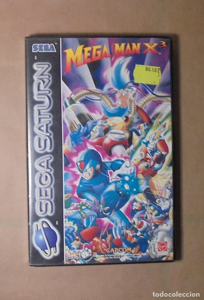 JUEGO SEGA SATURN - MEGA MAN X3 - COMPLETO (Juguetes - Videojuegos y Consolas - Sega - Saturn)