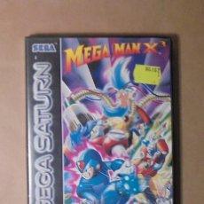 Videojuegos y Consolas: JUEGO SEGA SATURN - MEGA MAN X3 - COMPLETO. Lote 117960227
