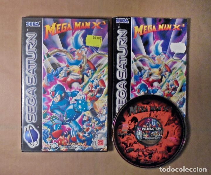 Videojuegos y Consolas: JUEGO SEGA SATURN - MEGA MAN X3 - COMPLETO - Foto 2 - 117960227