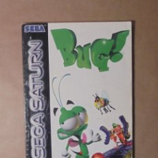 Videojuegos y Consolas: MANUAL DE JUEGO - BUG - SEGA SATURN. Lote 143930921