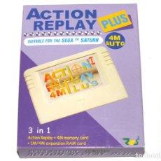 Videojuegos y Consolas: ACTION REPLAY PLUS 4 M SEGA SATURN NUEVO. Lote 204486427