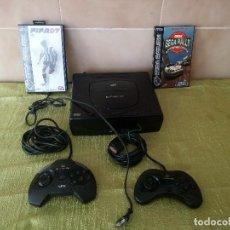 Videojuegos y Consolas: VIDEOCONSOLA SEGA CLASE1 SATURN CON DOS MANDOS Y DOS JUEGOS SEGA RALLY Y FIFA 97. Lote 120055727