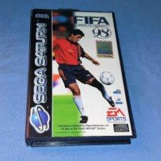 Videojuegos y Consolas: JUEGO FIFA RUMBO AL MUNDIAL 98 SEGA SATURN. Lote 120487595
