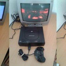 Videojuegos y Consolas: CONSOLA SEGA SATURN COMPLETA MK-80200-50 PLENO FUNCIONAMIENTO PAL BUEN ESTADO!!! R7502. Lote 120948323