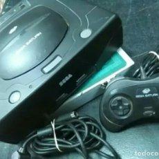 Videojuegos y Consolas: SEGA SATURN PACK CONSOLA+CABLES+MANDO DE SEGA. Lote 121892843