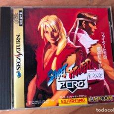 Videojuegos y Consolas: JUEGO SEGA SATURN VERSION JAPONESA - STREET FIGHTER ZERO - COMO NUEVO -. Lote 124456075