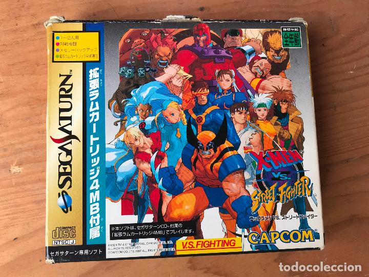 Juego Sega Saturn Version Japonesa X Men Vs S Comprar