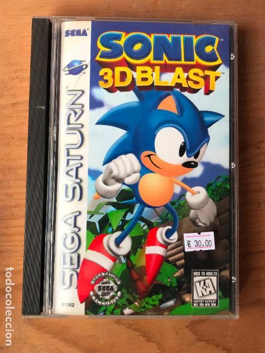 Juego Sega Saturn Version Usa Sonic 3d Blast Comprar Videojuegos