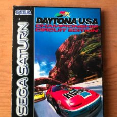 Videojuegos y Consolas: DAYTONA USA-SEGA SATURN VERSION ESPAÑA - FUNCIONANDO. Lote 124680659