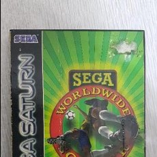 Videojuegos y Consolas: SEGA SATURN - WORKWIDE SOCCER 97. Lote 131854603