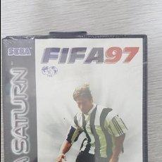 Videojuegos y Consolas: FIFA 97 SEGA SATURN NUEVO A ESTRENAR. Lote 126563187
