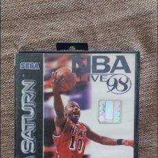 Videojuegos y Consolas: JUEGO SEGA SATURN NBA LIVE. Lote 127116664