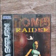 Videojuegos y Consolas: TOMB RAIDER SEGA SATURN. Lote 127120134