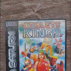 Videojuegos y Consolas: JUEGO SEGA SATURN ATHLETE KINGS. Lote 127120344
