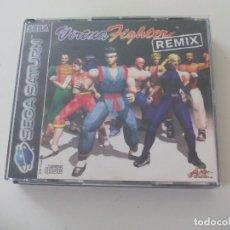 Videojuegos y Consolas: VIRTUA FIGHTER REMIX. JUEGO PARA LA CONSOLA SEGA SATURN. CON LA CAJA Y EL MANUAL. VIDEOJUEGO. Lote 130656158