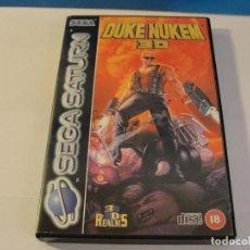 Videojuegos y Consolas: LOTE DUKE NUKEN 3D SEGA SATURN COMPLETO FUNCIONANDO. Lote 133818702