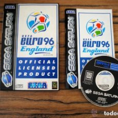 Videojuegos y Consolas: JUEGO SEGA SATURN UEFA EURO 96 ENGLAND. Lote 135175522