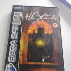 Videojuegos y Consolas: VIDEOJUEGO SEGA SATURN HEXEN. Lote 135769706