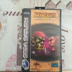 Videojuegos y Consolas: WARCRAFT II THE DARK SAGA SEGA SATURN. Lote 142104486
