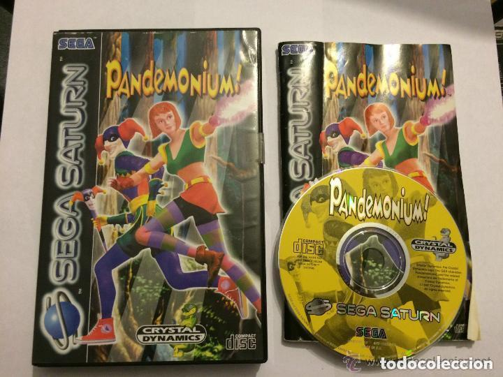 JUEGO SEGA SATURN PANDEMONIUM (Juguetes - Videojuegos y Consolas - Sega - Saturn)