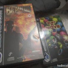 Videojuegos y Consolas: 2 JUEGOS COMPLETOS SATURN. Lote 147543010