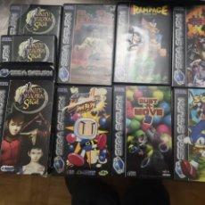 Videojuegos y Consolas: LOTE SATURN. Lote 147310942
