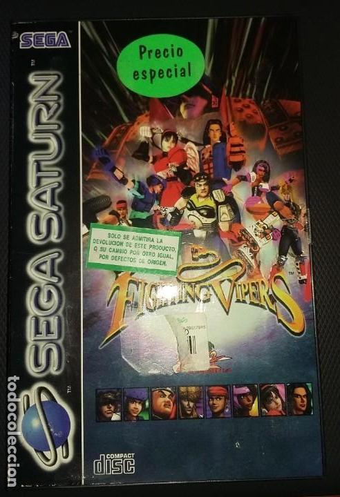 JUEGO SEGA SATURN FIGHTING VIPERS, COMPLETO (Juguetes - Videojuegos y Consolas - Sega - Saturn)