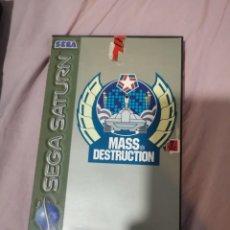 Videojuegos y Consolas: MASS DESTRUCION SEGA SATURN. Lote 149909178