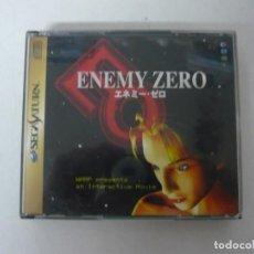 Videojuegos y Consolas: ENEMY ZERO / SEGA SATURN - JUEGO EN CD - RETRO, VINTAGE . Lote 151106810