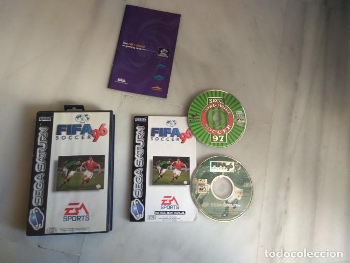 JUEGO SEGA SATURN FIFA 96 SOCCER (Juguetes - Videojuegos y Consolas - Sega - Saturn)