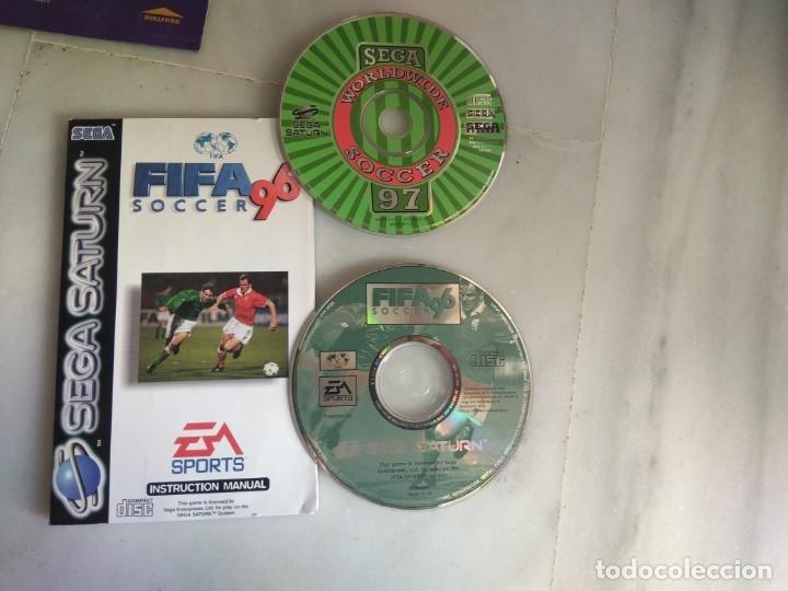 Videojuegos y Consolas: JUEGO SEGA SATURN FIFA 96 SOCCER - Foto 2 - 46661085