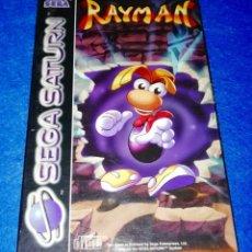 Videojuegos y Consolas: JUEGO PARA SEGA SATURN --- RAYMAN --- BOX17. Lote 154578234