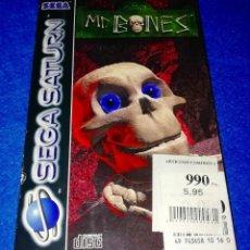 Videojuegos y Consolas: JUEGO PARA SEGA SATURN --- MR.BONES (INCOMPLETO) --- BOX17. Lote 154578402