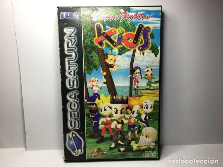 JUEGO VIRTUA FIGHTER KIDS DE SEGA SATURN (Juguetes - Videojuegos y Consolas - Sega - Saturn)