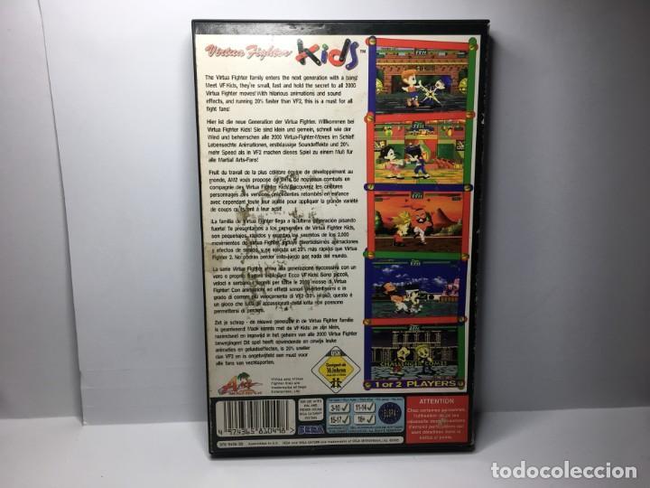 Videojuegos y Consolas: JUEGO VIRTUA FIGHTER KIDS DE SEGA SATURN - Foto 2 - 155650090