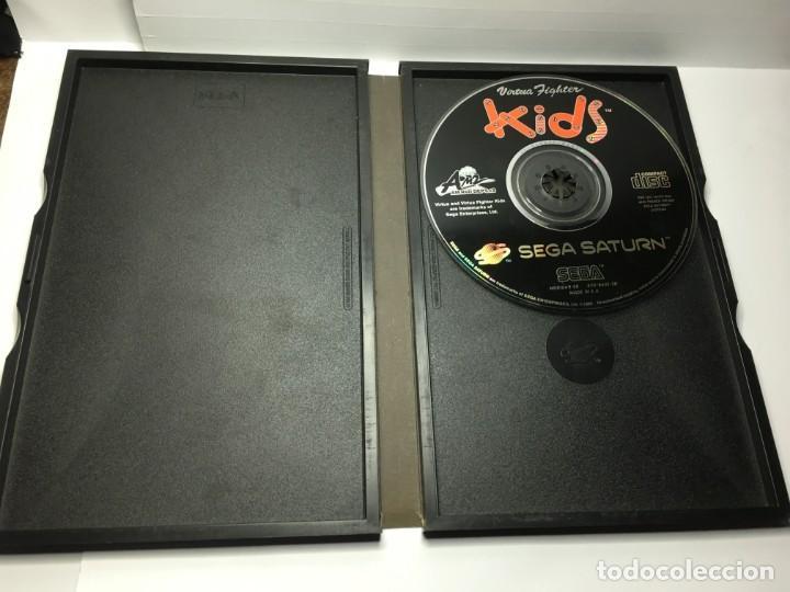 Videojuegos y Consolas: JUEGO VIRTUA FIGHTER KIDS DE SEGA SATURN - Foto 3 - 155650090