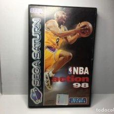 Videojuegos y Consolas: JUEGO NBA ACTION 98 DE SEGA SATURN. Lote 155656766