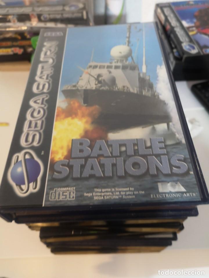 JUEGO SEGA SATURN BATTLE STATIONS (Juguetes - Videojuegos y Consolas - Sega - Saturn)