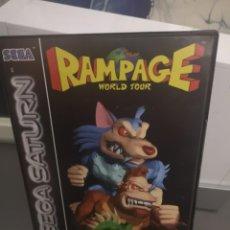 Videojuegos y Consolas: RAMPAGE SEGA SATURN . Lote 155823498
