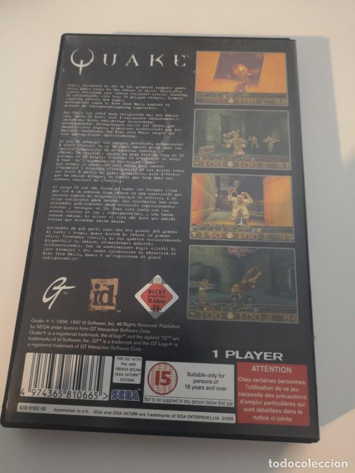Videojuegos y Consolas: Juego Sega saturn quake - Foto 5 - 155814830