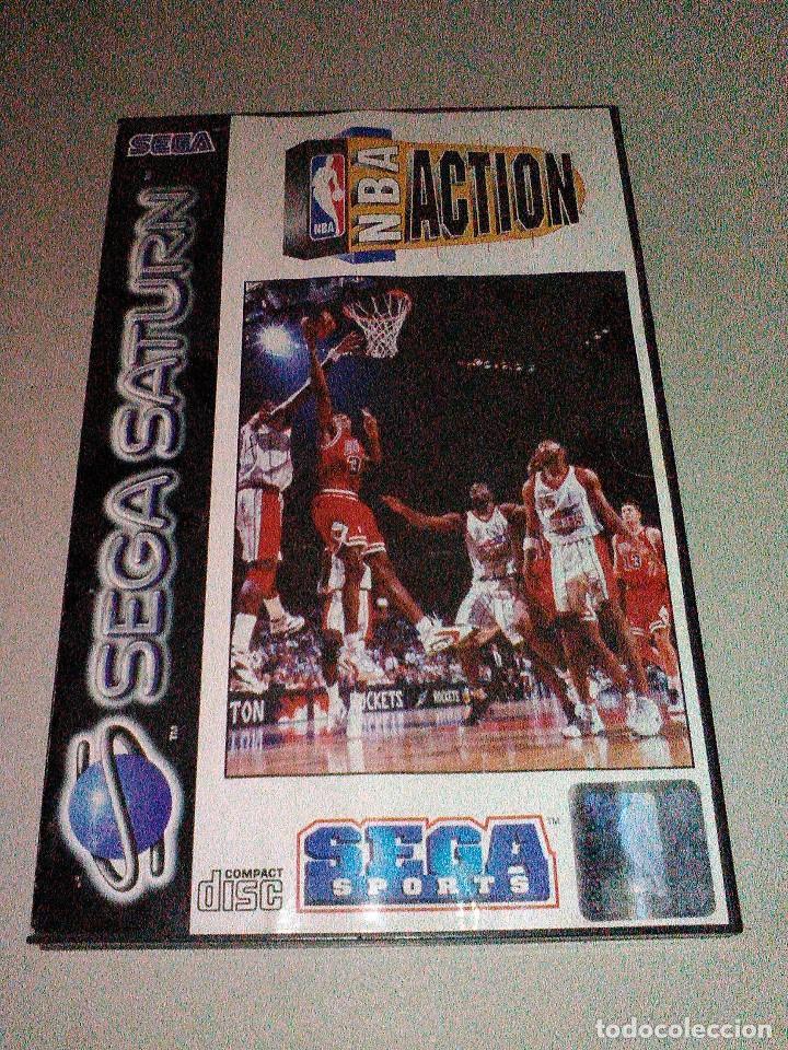 NBA ACTION SEGA SATURN (Juguetes - Videojuegos y Consolas - Sega - Saturn)
