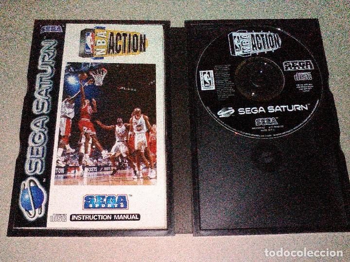 Videojuegos y Consolas: NBA Action sega Saturn - Foto 2 - 158310158