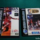 Videojuegos y Consolas: ANTIGUO JUEGO EN CAJA COMPLETO CD Y MANUAL SEGA SATURN NBA LIVE 98 + CAJA NBA ACTION CON OTRO CD. Lote 165496166