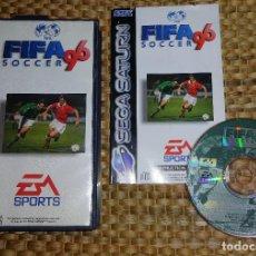 Videojuegos y Consolas: JUEGO SEGA SATURN - FIFA 96 - PAL ESPAÑA - COMPLETO. Lote 168856764